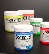 Golden Fluorescent Farben
